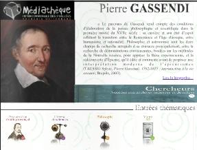 Site internet sur Pierre Gassendi