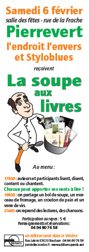 La soupe aux livres
