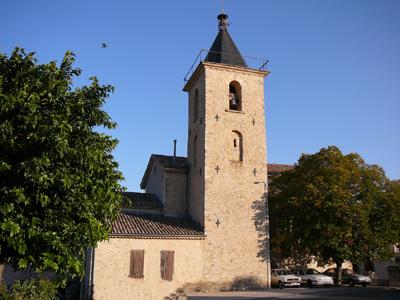 Clocher de l'église de Champtercier