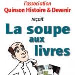 Soupe aux livres à Quinson