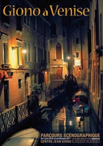 Exposition Jean Giono un écrivain à Venise