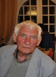 L'écrivain Pierre Magnan
