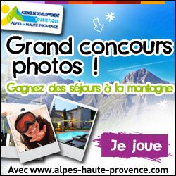 Grand concours photos Alpes de Haute-Provence