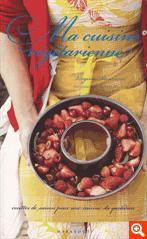 Couverture du livre ma cuisine végétarienne de Virginie Besancon