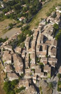 village de Dauphin dans les Alpes de Haute Provence