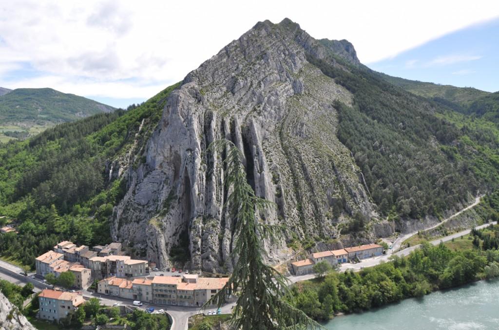 Vue d'en haut de la Citadelle de Sisteron