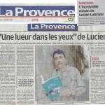 article La Provence sur Lucien Lubrano