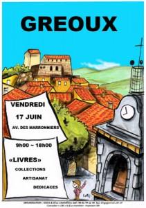 marché livres collections à Gréoux les Bains
