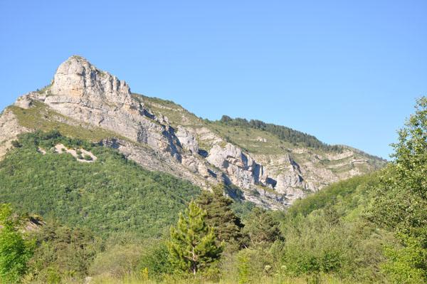 Paysages de montagnes autour d'Authon