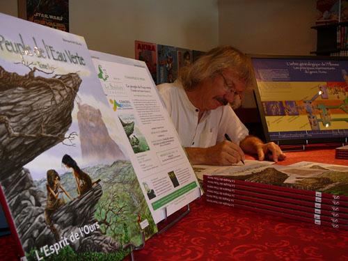 Pr sence des alpes de haute provence au salon du livre 2012 paris - Bernard philibert salon de provence ...
