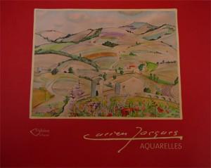 Couverture du livre Aquarelles Lucien Jacques