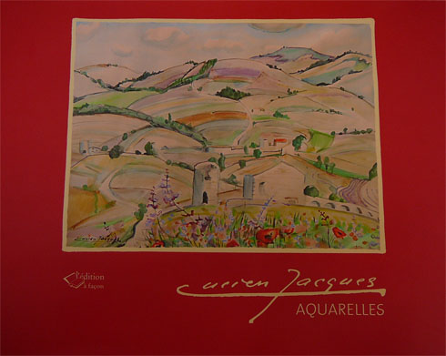 Aquarelles Lucien Jacques