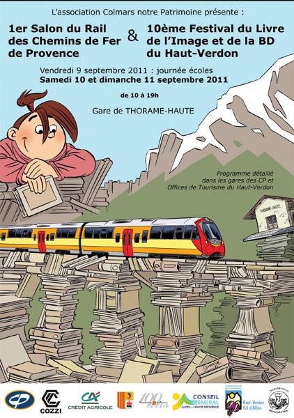 10 me festival du livre de l 39 image et de la bd du haut verdon - Journee des associations salon de provence ...