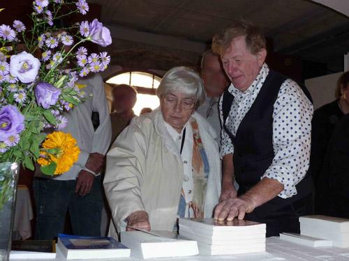 L'écrivain Nicole Ciravégna à Moustiers Sainte Marie