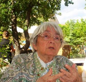 L'écrivaine Nicole Ciravégna