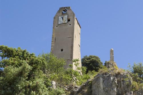 Tour de l'horloge à Volonne