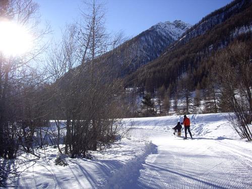 Handiski nordique à Larche en Haute-Ubaye