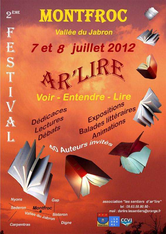 2ème Festival ar'lire de Montfroc