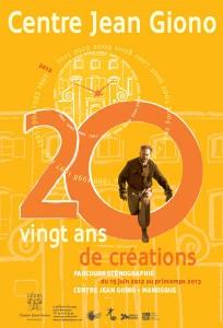 """exposition """"Célébration de Giono, 20 ans de création"""" centre Jean Giono Manosque"""