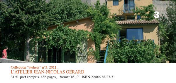 """Collection """"ateliers"""" n°3. 2011. L'atelier du potier Jean-Nicolas GERARD à Valensole"""