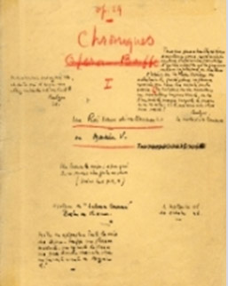 Un roi sans divertissement, le roman d'un chef d'œuvre, archives de l'écrivain Jean Giono