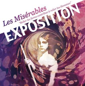 Exposition reliures d'Art « Les 150 ans des Misérables » à Forcalquier