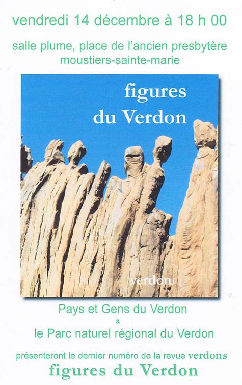 Revues Verdons – figures du Verdon