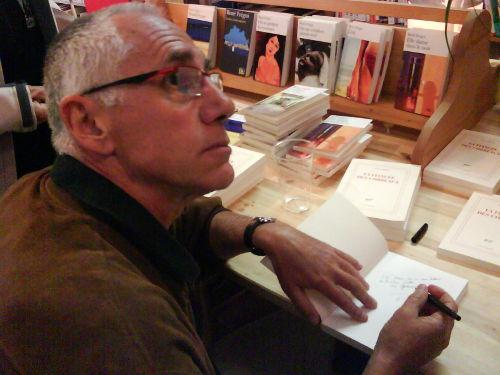 René Frégni rencontré lors d'une séance de dédicaces