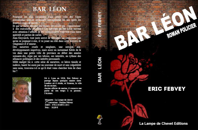 Bar Léon roman policier de Eric Febvey