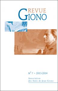 Revue Giono n°7