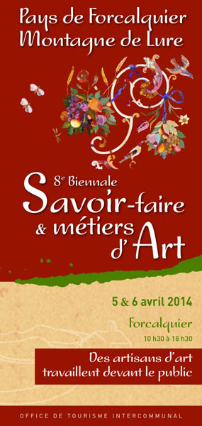 Biennale savoir faire m tiers d art 5 6 avril for Biennale artisanat d art
