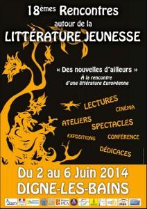Rencontres autour de la Littérature Jeunesse à Digne-les-Bains