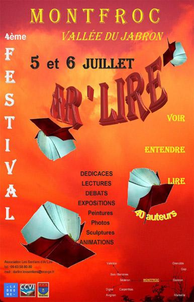 Festival AR'LIRE à Montfroc
