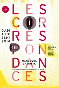 Correspondances de Manosque 2014
