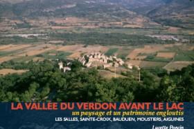 La vall e du verdon avant le lac de lucette poncin - Office du tourisme les salles sur verdon ...