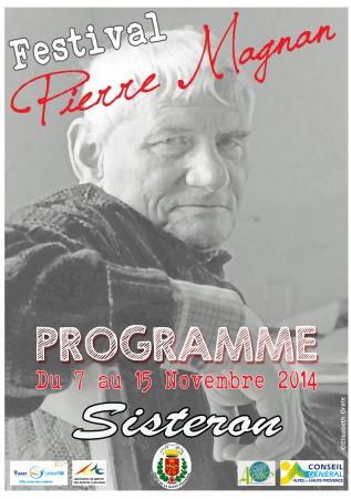 Affiche du Festival de la Nouvelle « Pierre Magnan »