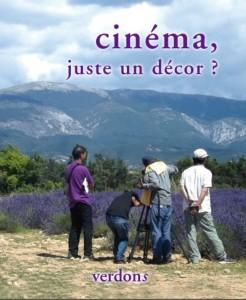 Revue verdons n°45 cinéma, juste un décor ?