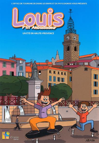 bande dessinée, BD Louis, P'tit ambassadeur - Un été en Haute Provence de Nemra, chez Cinerzo Edition.
