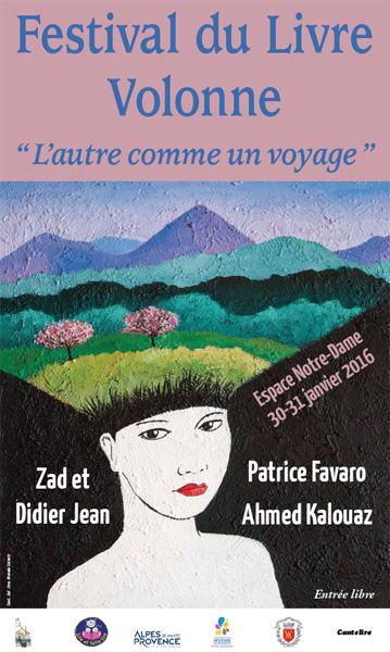 Affiche du Festival du livre Volonne