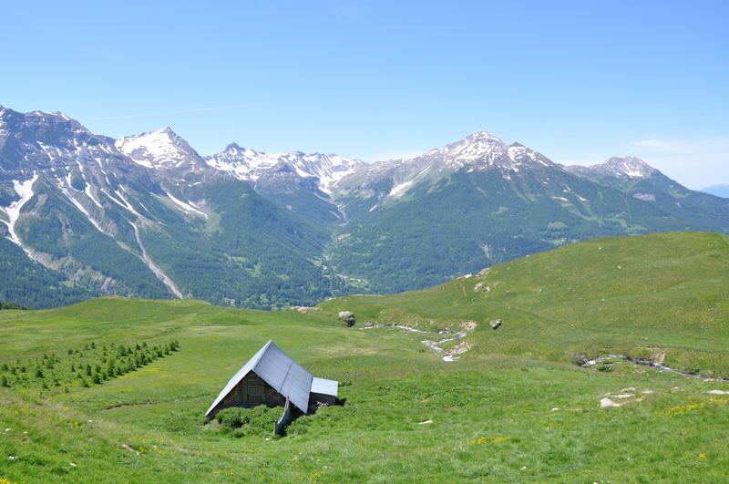 paysage de montagne Alpes Mercantour