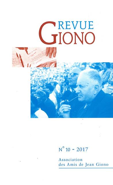 Revue Giono n°10 - 2017