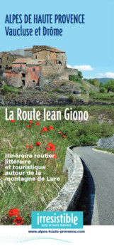 Route Jean Giono, route touristique et littéraire