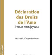 Déclaration des Droits de l'Âme de Pier Veranese