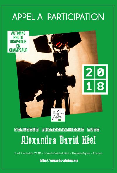 dialogue photographique avecAlexandra David Néel