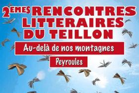 2èmes Rencontres littéraires du Teillon à Peyroules
