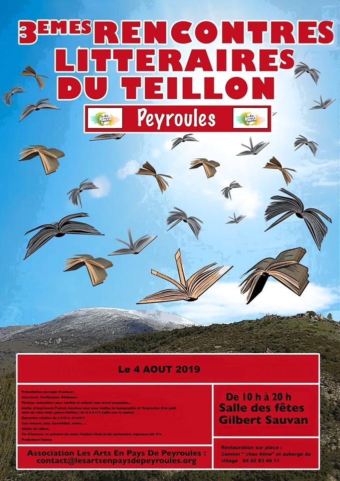 Rencontres littéraires du Teillon