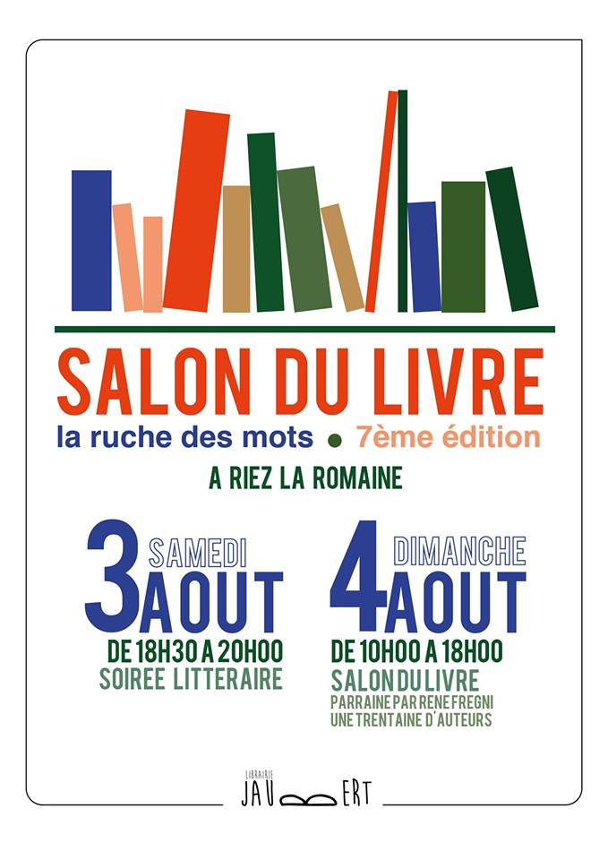 La Ruche des mots Salon du livre Riez La Romaine