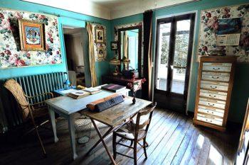 """Son """"trou"""" maison d'Alexandra David-Néel à Digne-les-Bains"""