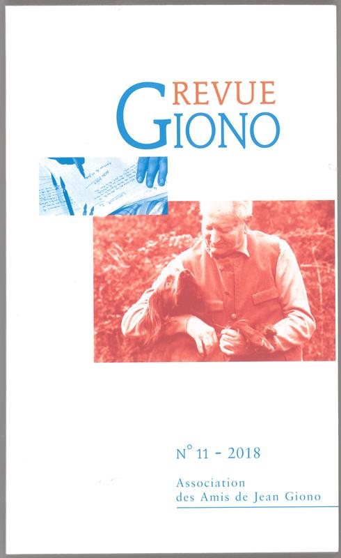 Revue Giono n°11 - juin 2018