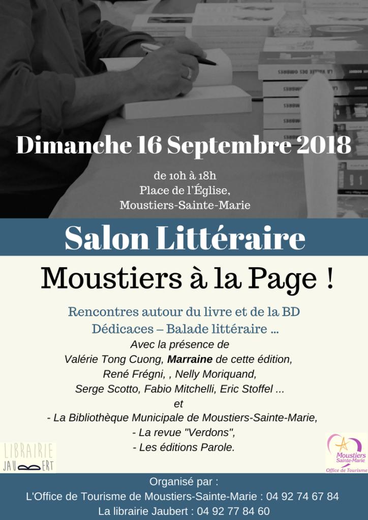 Moustiers à la Page 16 septembre 2018